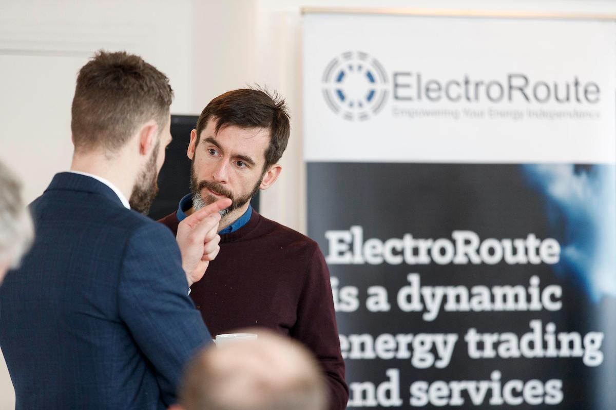 Brian Kennedy (ElectroRoute) & Stephen Douglas (EAI)